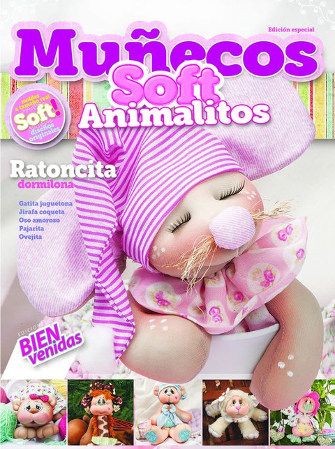Muñecos Soft Animalitos 2015 N° 01