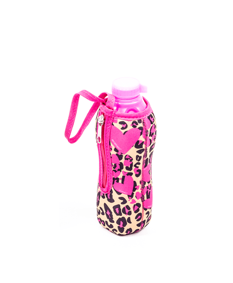 Botella con funda Animal Print
