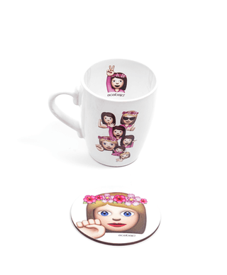 Set Taza Emojis en internet