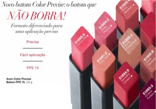 Avon Batom Color Precise Nude Notável FPS 15 3,6 G 51902-8 na internet