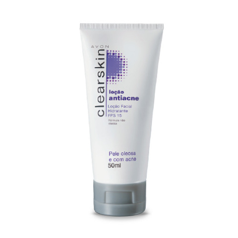 Avon Clearskin Loção Facial Hidratante FPS 15 50 ml 51321-1