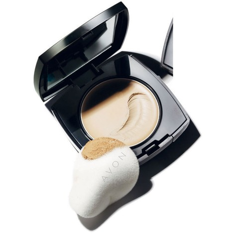 Avon Ideal Face Base Compacta de Múltipla Ação FPS 15 9g