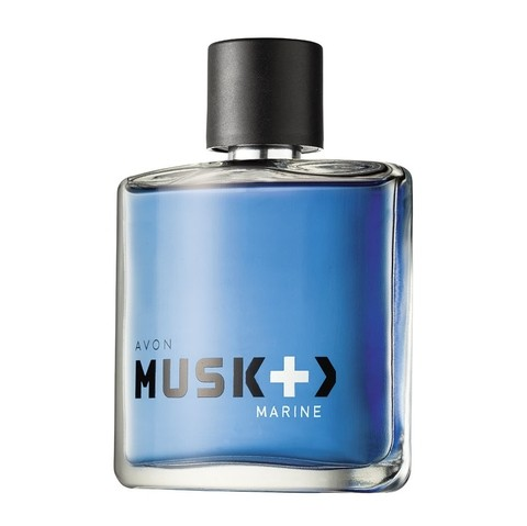 Avon Musk+ Marine Deo Colonia Masculino Spray 75ml 50246-6