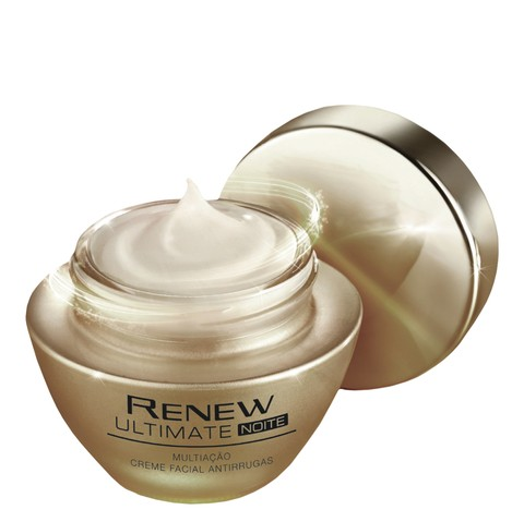 Avon Renew Ultimate Multiação Noite Creme Facial Antirrugas 50g 51125-9