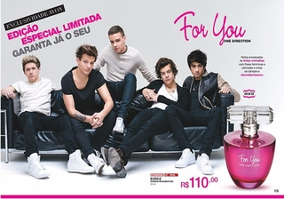Avon For You One Direction Perfume Feminino Spray 50ml 51342-0