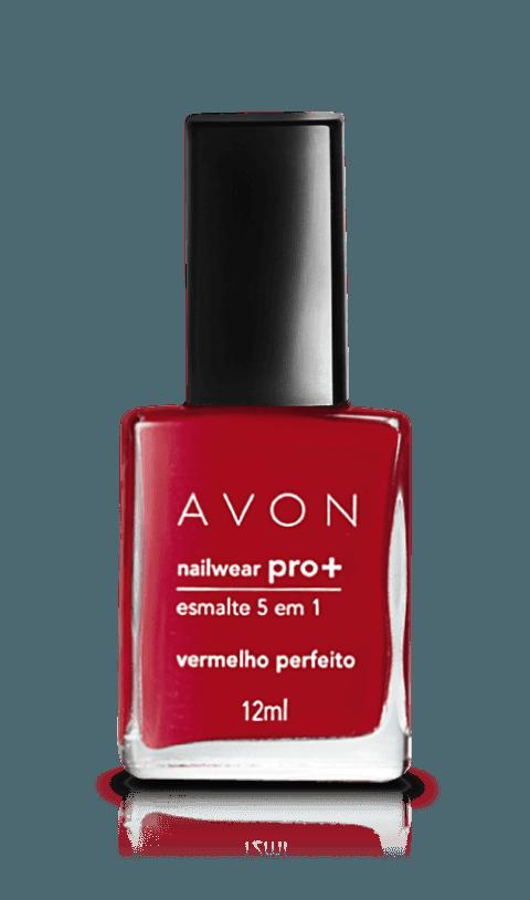 Avon Nailwear PRO+ Esmalte 5 em 1 Vermel... ...