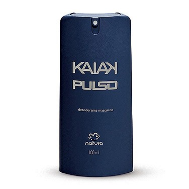 Natura Desodorante Spray Masculino Kaiak Pulso100ml 30486