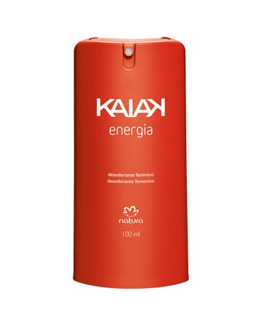 Natura Kaiak Energia Desodorante Spray Feminino 100ml 52206