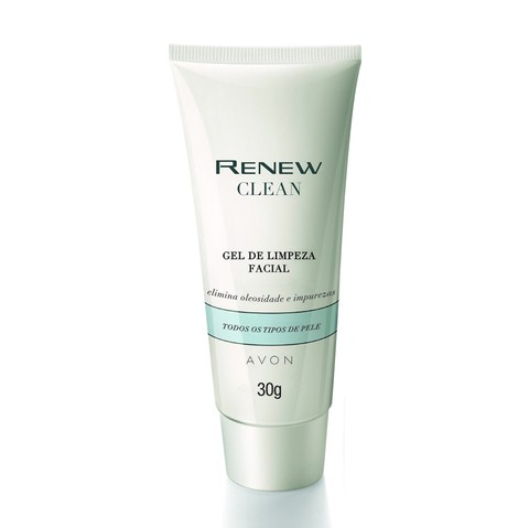 Avon Renew Clean Gel de Limpeza Facial 30g