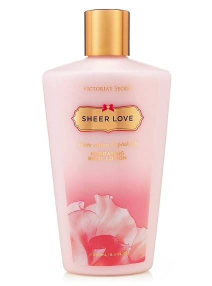 Victoria's Secret pronta entrega Sheer Love Body Lotion Hidratante 250ml