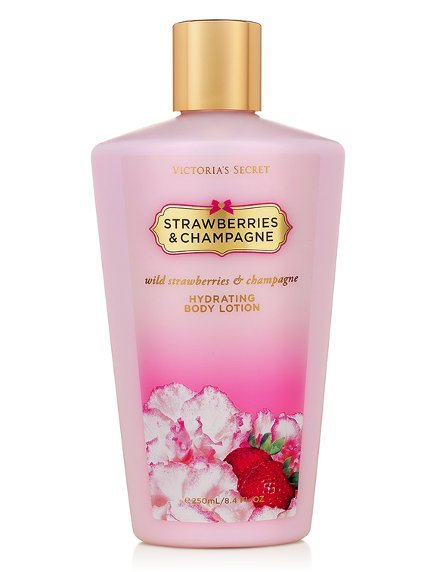 Victoria's Secret pronta entrega Body Lotion Hidratante Strawberries & Champagne 250ml