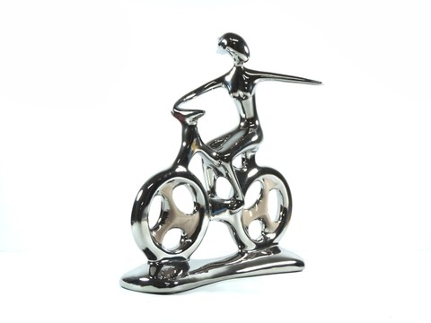 ESCULTURA HOBBY COLLECTION BIKE M 25,5CM