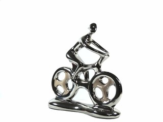 ESCULTURA HOBBY COLLECTION BIKE M 26CM - comprar online