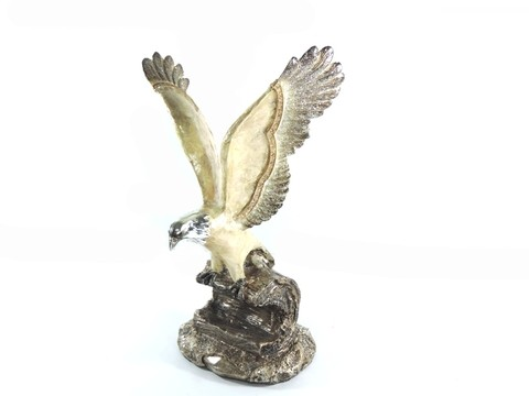 2074 - ESTATUETA AGUIA ESPECIAL COLLECTION NG 26CM