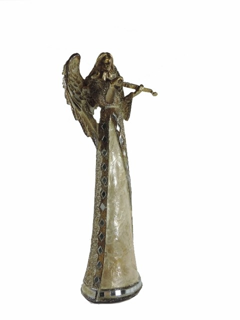 2074 - ESTATUETA ANJO ESPECIAL COLLECTION 29CM 2MOD JG C/2 - comprar online