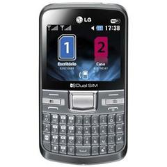 LG C199 PRATA COM DUAL CHIP, CAMERA 2MP, RADIO FM, MP3, TECLADO QWERTY, BLUETOOTH, WI-FI - comprar online
