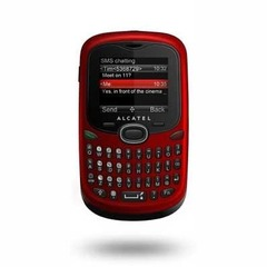 ALCATEL OT-255 CHERRY RED DUAL CHIP COM TECLADO QWERTY na internet