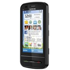 Imagem do NOKIA C6 PRETO COM CÂM 5MP,SYMBLAN, 3G,WI-FI,QWERT, MP3,FM,GPS,BLUETOOTH,TOUCH,FONE