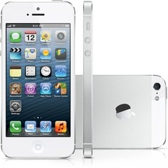 "iPhone 5S Apple com 16GB, Tela 4"", iOS 8, Touch ID, Câmera 8MP, Wi-Fi, 3G/4G, GPS, MP3 e Bluetooth - Branco - 16GB - comprar online"