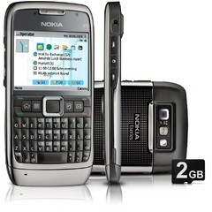 CELULAR NOKIA E71 3G C/ CÂMERA DE 3.2MP, WI-FI, GPS, MP3, BLUETOOTH
