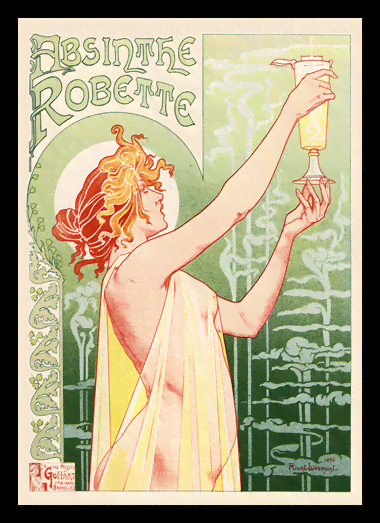 Quadro Poster The Belle Epoque Absinthe