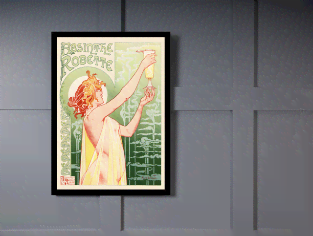 Quadro Poster The Belle Epoque Absinthe na internet