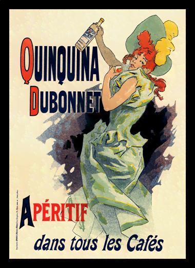 Quadro Poster The Belle Epoque Quinquina