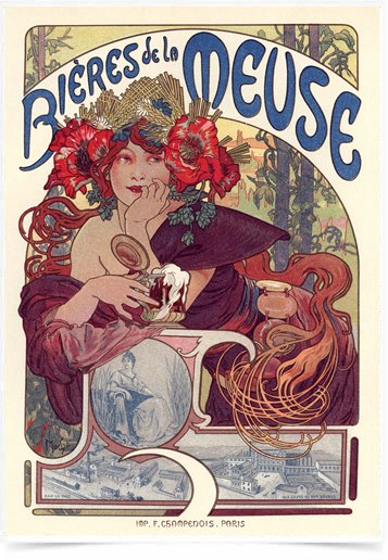 Poster The Belle Epoque Bieres Meuse