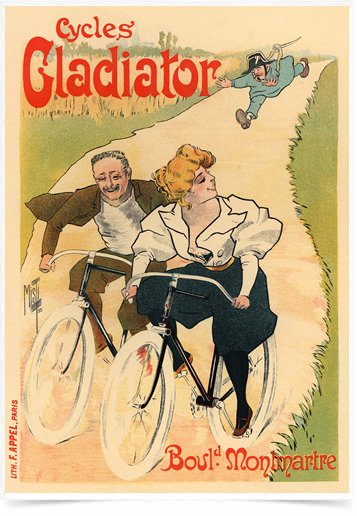 Poster The Belle Epoque Cycles Gladiator