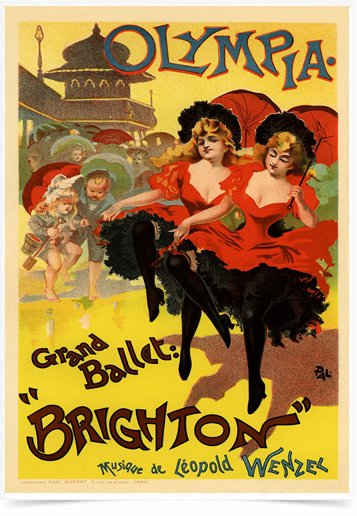 Poster The Belle Epoque Brighton