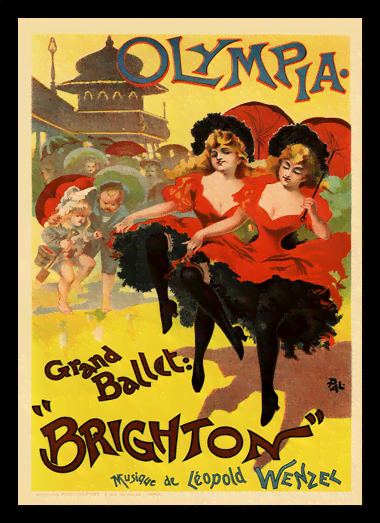 Quadro Poster The Belle Epoque Brighton
