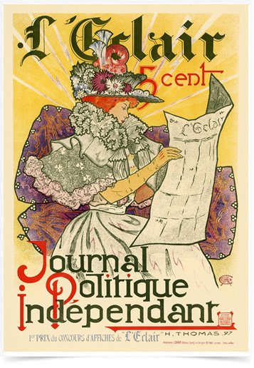 Poster The Belle Epoque Journal Politique