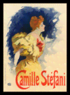 Quadro Poster The Belle Epoque Camille Stefani