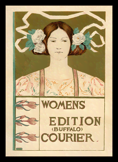 Quadro Poster The Belle Epoque Womens Buffalo