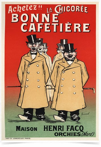Poster The Belle Epoque Bonne Cafetiere