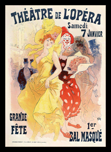 Quadro Poster The Belle Epoque Grande Fete