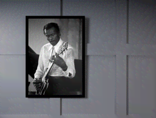 Quadro Poster Grandes Nomes da Musica Chuck Berry on internet