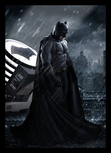 Quadro Poster Cinema Filme Batman vs Superman 1