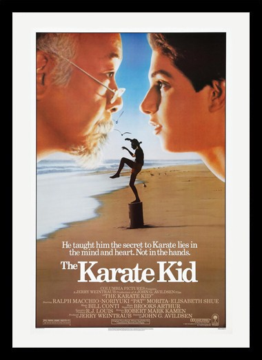 Quadro Poster Cinema Filme Karate Kid 1