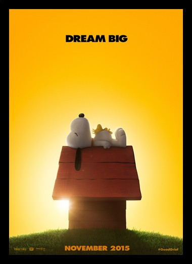 Quadro Poster Cinema Filme The Peanuts Movie 1