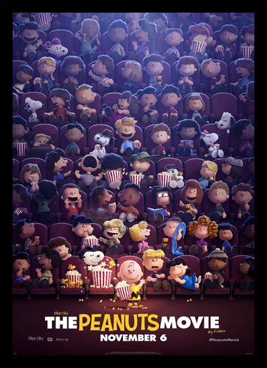 Quadro Poster Cinema Filme The Peanuts Movie 3