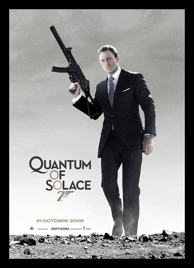 Quadro Poster Cinema Filme Quantum of Solace