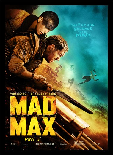 Quadro Poster Cinema Mad Max Fury Road 1
