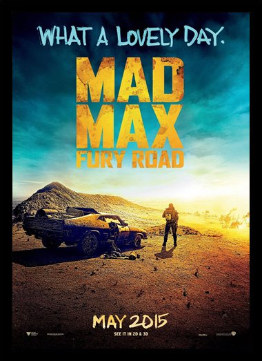 Quadro Poster Cinema Mad Max Fury Road 2