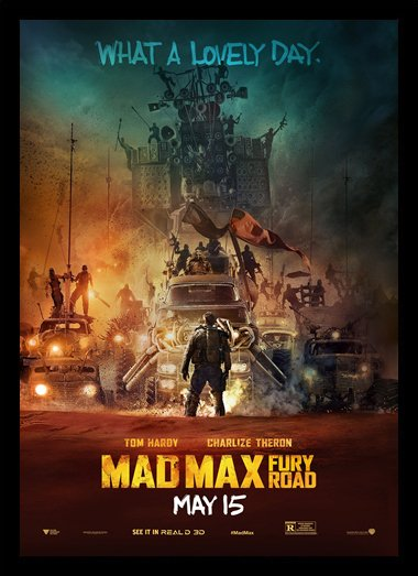 Quadro Poster Cinema Mad Max Fury Road 3