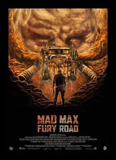 Quadro Poster Cinema Mad Max Fury Road 4