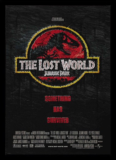 Quadro Poster Cinema Filme Jurassic Park The Lost World 1