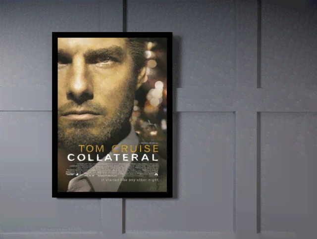 Quadro Poster Cinema Filme Collateral na internet