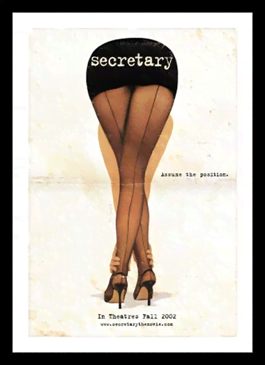 Quadro Poster Cinema Filme Secretary