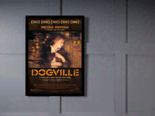 Quadro Poster Cinema Filme Dogville on internet